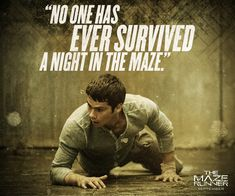 Movie Quotes - The Maze Runner Film Photo (37066968) - Fanpop