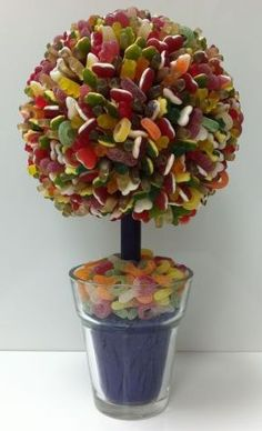 """""""Sweet Creations"""" are the creators of spectacular sweet trees and sweet arrangements."""