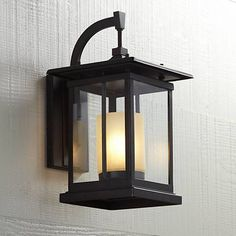 """Foxmoore Collection 16 1/2"""" High Bronze Outdoor Wall Light"""