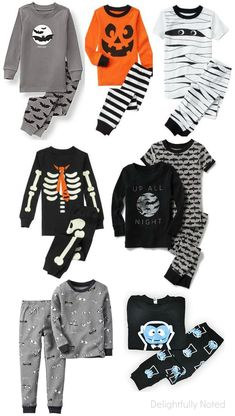 98a4f78a4a 14 cute and spooktacular Halloween pajamas for kids! I wish these cozy pjs  came in
