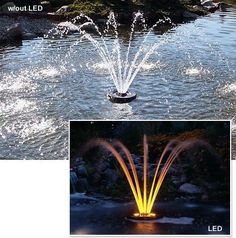 Aerating Fountains 1 HP C-85 Aerating Fountain (mfg#4400HVFX) by Drs. Foster & Smith. $2499.99. Powerful aerating fountains for ponds, water gardens, and water features Create a beautiful fountain display while adding vital oxygen to the water Oxygenate pond water for healthier fish and better biological filtration Powerful, professional fountain systems enrich ponds and water features with vital oxygen. These decorative aerating fountains eliminate stagnant, oxygen-poor areas...