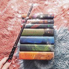 "teenytinyhermione: "" merry christmas to all my new bookstagram friends ! christmastime always makes me think of harry potter❣️ ig: teenytinyhermione """