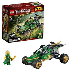 LEGO Ninjago Jungle Raider is a 127 piece set for ages 7 and up. Get creative and build the Jungle Raider! Race around the jungle terrain with Lloyd! Lego Ninjago, Ninja Lego, Figurines D'action, Retro Arcade, Buggy, Building For Kids, Lego Building, Lego Moc, Lego City