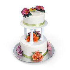 Blossoming Wedding Cake by  Susan Tierney-Cockburn - Scrapbook.com