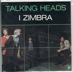 """Talking Heads – I Zimbra SEALED 1979 French 7"""""""