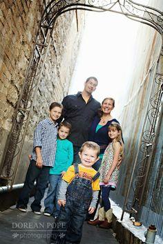 urban family portraits - austin portraits - dorean pope photography
