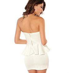 Vestidos ( Algodão ) MULHERES - Sexy – BRL R$ 54,69