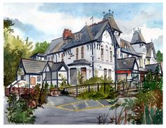 County Hotel, Alderley. by MadunTwoSwords
