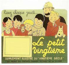 Publicité Le petit vingtième - 1938.
