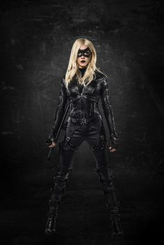 Laurel as the Black Canary /// OHMIGOSH. NO. IT'S TOO SOON. But she looks so badass, AHHH! :D :D