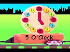 "Kids train. Train for kids. What's the time? Telling time for kindergarten. Telling time is easy. ""clock train"". Tell the time in english. learn to tell time for kids. Telling clock time for kids. Learning how to tell clock time like a rhyme i.e. easy, super & simple with fun in english just as nursery rhymes and songs for children. clock time t..."