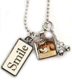 Cheshire Cat Smile Necklace