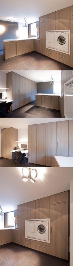 Corné Interieurs #Washingroom #Laundrey #berging