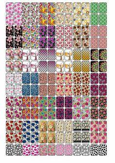 De tudo um pouco unhas cartelas gratis para imprimir pelculas find this pin and more on krm matrica by babi altavistaventures Gallery