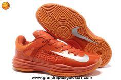 Team Orange Strata Grey Mens Nike Hyperdunk Low Outlet