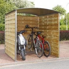 Abri poubelle et vélos - Rolleco