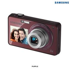 Samsung ST700 DualView 16MP 5x Zoom Digital Camera - Assorted Colors