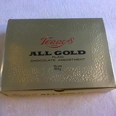 Terry's All Gold - another favourite chocolate assortment