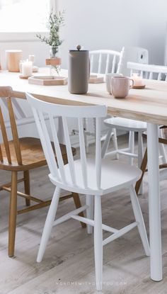 hakola pöytä woody 1 Dining Chairs, Dining Room, Home Interior, Woody, Sweet Home, Table, Handmade, Inspiration, Furniture