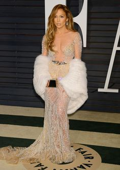 Jennifer Lopez  (Vanity Fair Oscar Party 2015)