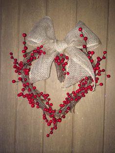 My Funny Valentine wreath!
