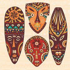 Resultado de imagen para mascaras africanas diy