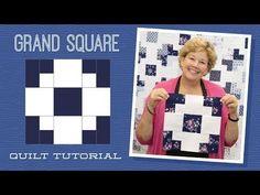 MSQC Tutorial - Grand Square Quilt