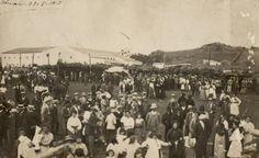 A on avui dia és el camp de futbol de Sant Martí (es Mercadal), una fira de bestià, a principi de segle XX