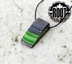 ROOT  Green Kakao - Recycled Skateboard Necklace e8a38f87d997