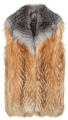 Burberry Fur Vest