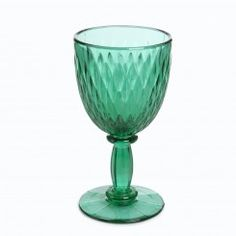 HOUSE OF HACKNEY Large Diamond Wine Glass - Green #HOHSOS