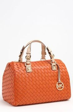 MICHAEL Michael Kors  Grayson - Large  Leather Satchel available at   Nordstrom leather handbags 29d34c5c7c010