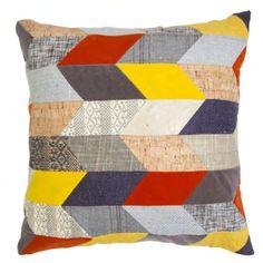 Megan Park Mosaic Patched Cushion