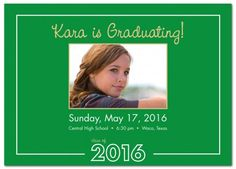 Turning the Page with Photo - Graduation Announcement from www.papersnaps.com    http://www.papersnaps.com/announcements/graduation-announcements/high-school-and-college-graduation-announcements/turning-the-page-with-photo-graduation-announcement.html    #GraduationAnnouncements
