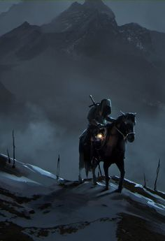 Alone in the Mountains by Daria Rashev