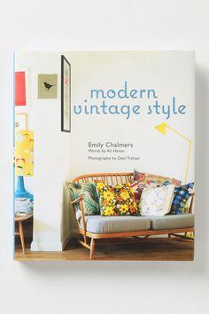 """Book Wish List: """"Modern Vintage Style"""""""