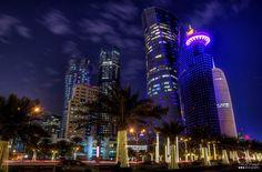 Beautiful Towers Al Dafna #Doha #Qatar