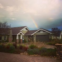 The Vistas at Skytt Mesa...at the end of the rainbow ..only two homes left in phase 3.. :D