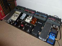 awesome musicom + eventide board #pedalboard