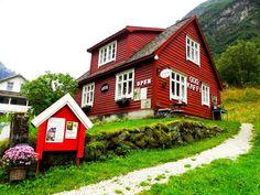 Life Abundant Blog - Gudvagen, Norway,     Best places to visit in Gudvagen, Norway Blog, Norway Travel Tips, Norway Hike, Gudvagen Travel, Nowray house, red house, cloudberry