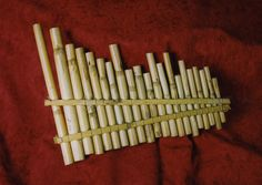 Name PAN PIPES Classification Aerophones 'Other name' Entry name: Pan Pipes 'Culture group' Ecuadorian 'Culture group place' Ecuador Description: 21 graded reed pipes held between 2 parallel bars to form a raft/ bundle Pan Flute, Native American Flute, West Art, Heart Sign, Pipes, Twine, Music Instruments, Grover Underwood, Pin Pin