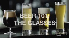 which Beer  Glasses must use and why