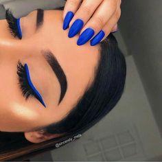 20 Hottest & Catchiest Nail Polish Trends in 2019 Makeup Eye Looks, Cute Makeup, Gorgeous Makeup, Glam Makeup, Makeup Geek, Dior Makeup, Bridal Makeup, Wedding Makeup, Make Up Color