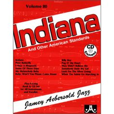Check out the Indiana - Volume 80 Availible at Carlingford Music Centre Indiana Standards, Long Books, Online Music Stores, American Standard, Thats Not My, Believe, Centre, Play, Check