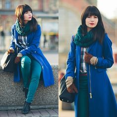 Beautiful story (by Paulina R.) http://lookbook.nu/look/4279105-Beautiful-story    and lots of blue.