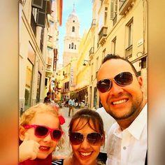 Tempo em Família - Conhecendo Málaga Cidade de Picasso - Espanha  - tempo lindo em Família - Deus nos Proporciona tempo de Qualidade em Família - presente de Deus