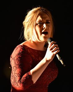 Adele Photos - The 58th GRAMMY Awards - Show - Zimbio