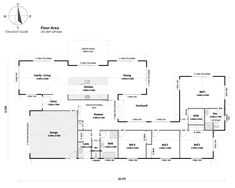 House With Granny Flat, House Plans Australia, Open House Plans, Ranch Homes, Extended Family, Dream House Exterior, Family Gatherings, Open Plan Living, Cool House Designs