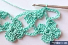 Foto-Tutorial: Punto Delicado a Crochet