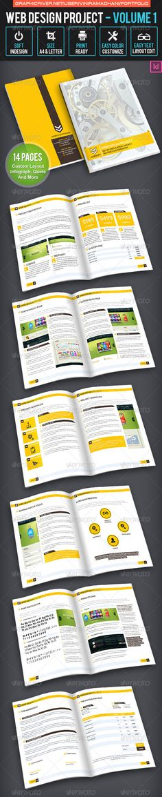 Web Design Proposal by habageud on Creative Market magazine - what is in a design proposal